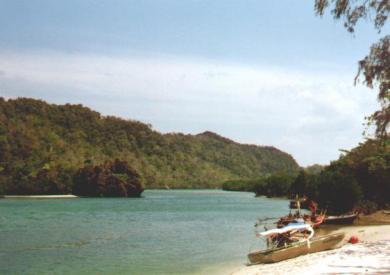 11月泰国Tarutao国家海洋公园