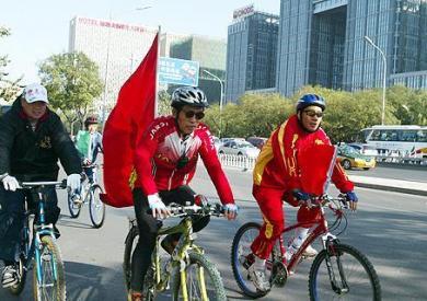 公路自行车拉力赛2日京亮相