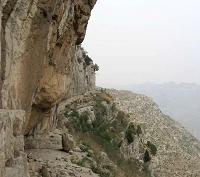 山东潍坊地区未开发岩壁