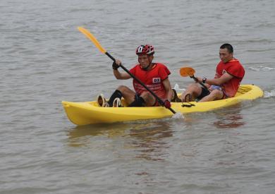 中国宁海亚洲山地户外运动挑战赛:皮划艇(4)