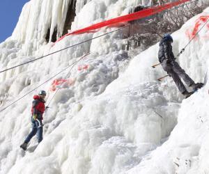 全国大学生登山技能冬训营第一批结营