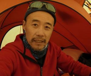 王石传授登山技巧(图)