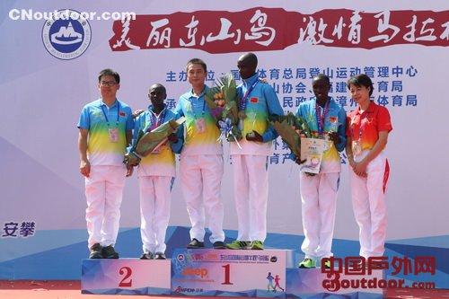 mayakaminami_21公里男子组前三名全部来自肯尼亚,他们分别是mayaka evans nyakamba