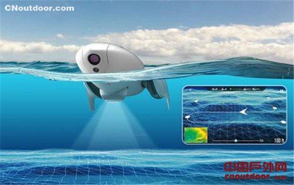 臻迪小海豚CES正式亮相 会游泳的4K相机你见过吗?