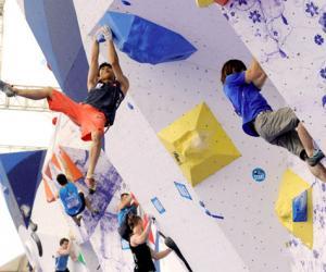 国际攀联世界杯攀岩赛中国首站赛5月在重庆开战