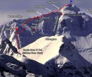 珠峰北坡修路工作已完成 登山团队可在窗口沿路绳登顶