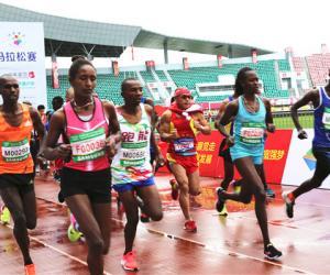 2018延吉国际马拉松赛在吉林延吉开跑