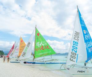 菲律宾长滩岛十月开放 永乐国际大帆船载你去浪