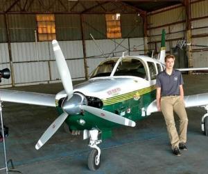 美18岁青年驾机环游全球 误闯台湾被战机拦截