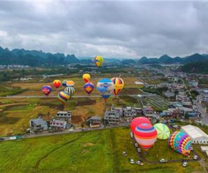 2018中国热气球表演赛暨飞行体验活动完美收官