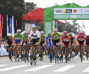 环福州·永泰国际公路自行车赛第二赛段德国车手称雄
