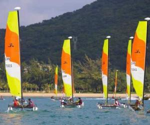 中国家庭帆船赛分站赛三亚收官