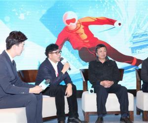 京津冀冰雪体验活动暨第33届冰雪欢乐节启动