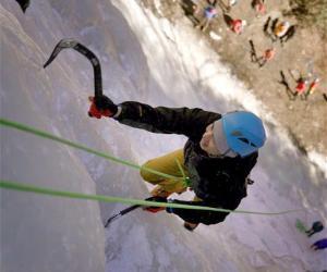 2019四姑娘山国际攀冰节举行