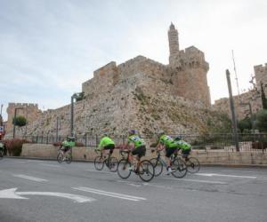 格兰芬多自行车赛来到耶路撒冷 共设三种比赛线路