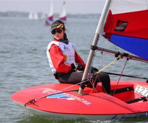 全国青少年帆船联赛上海站完赛