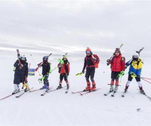 高山滑雪国家集训队阿尔卑斯备战冬奥