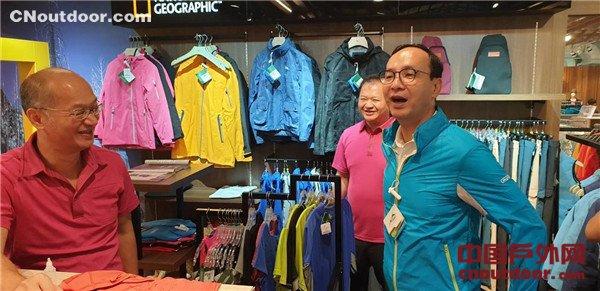 全球70%户外运动布料台湾制  朱立伦:打造机能纺织岛