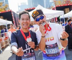 2020上海马拉松成功举办